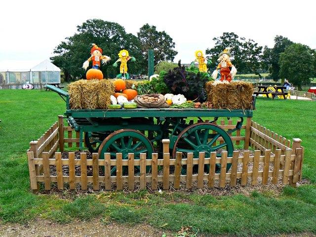 Harvest tableau, Hatton Country World, Warwick
