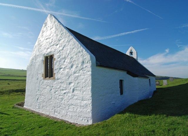 The church at Mwnt