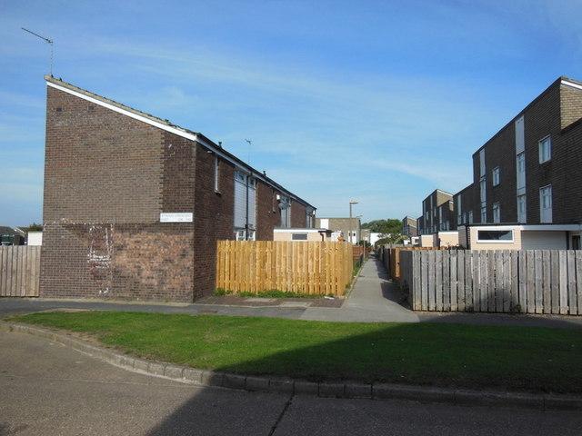 Houses on Stroud Crescent East, Bransholme