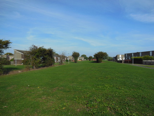 The line of the former Foredyke Drain, Bransholme