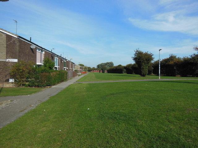Houses on Stroud Crescent West, Bransholme