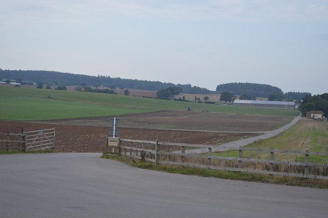 Farm road for PDM Salad traffic