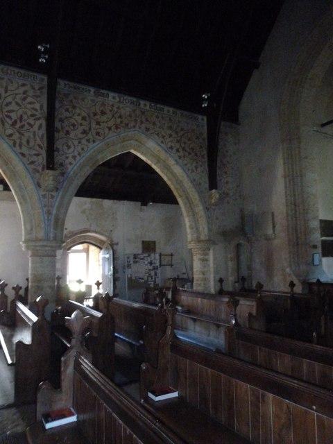 Inside St Mary, Powerstock (7)