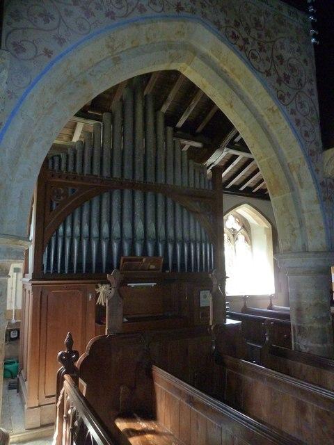 Inside St Mary, Powerstock (9)