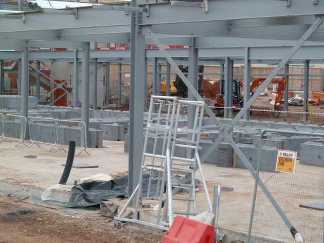 Worcestershire Royal Hospital - radiotherapy centre construction