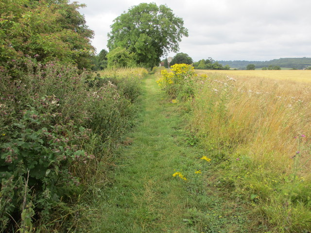 Path to St Mary's Church (1)