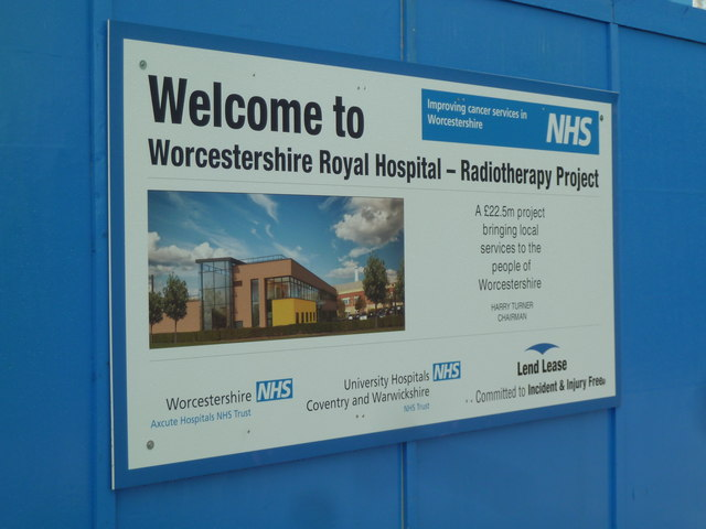 Worcestershire Royal Hospital - radiotherapy project