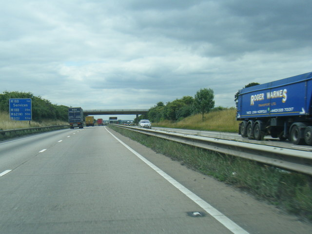 A180 north of Melton Ross