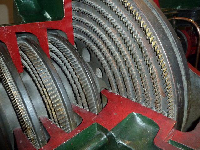 Science Museum - steam turbine