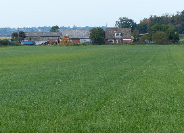 Turnpike Farm near Welford Road