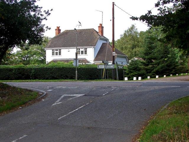 Binfield Road junction