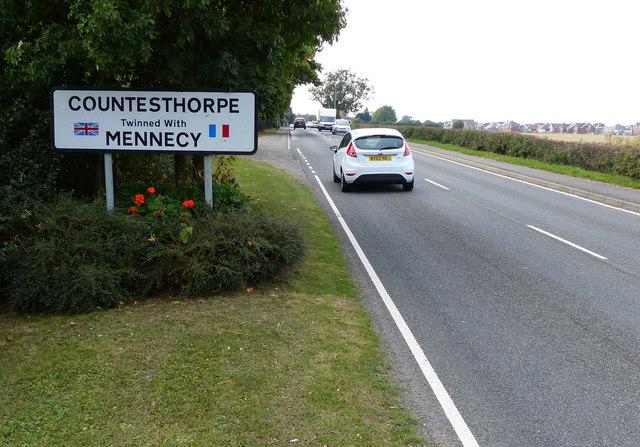 Countesthorpe village sign