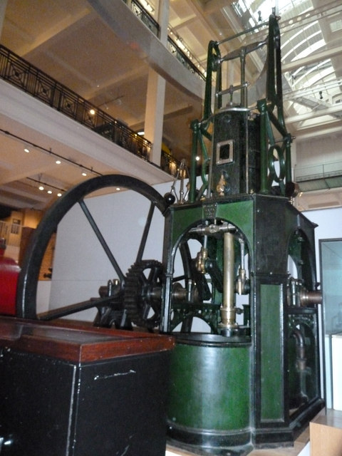Science Museum - Maudslay table engine