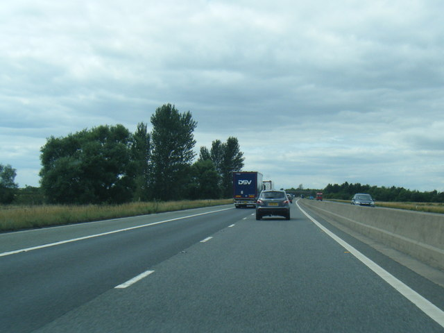 M180 south of Holme