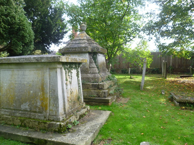 Tombs in St Mary's Churchyard, Long Ditton