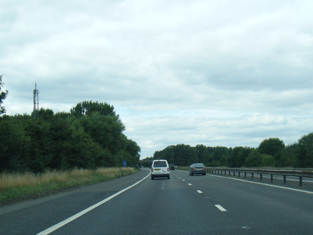 M180 westbound at Bottesford Moor