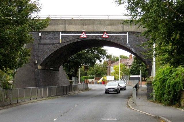 Bridge over Hawes Side Lane