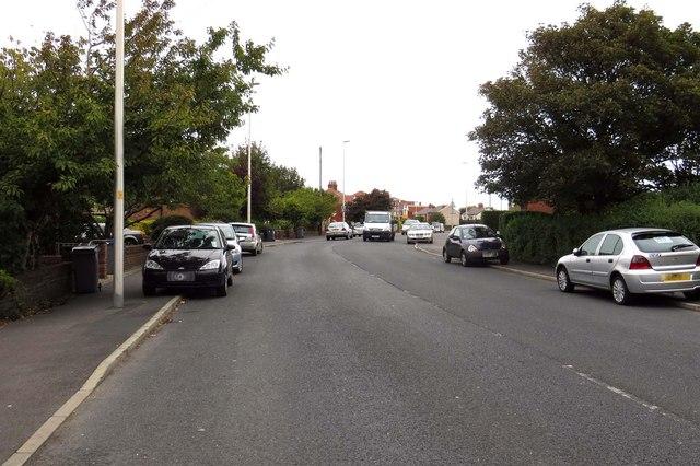 Hawes Side Lane into Blackpool