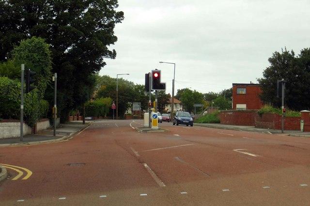 Preston Road out of Lytham