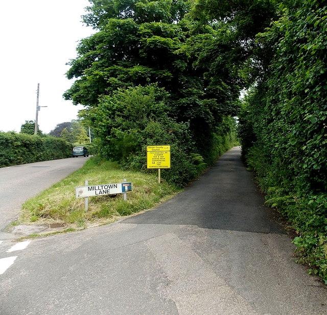 Milltown Lane Sidmouth