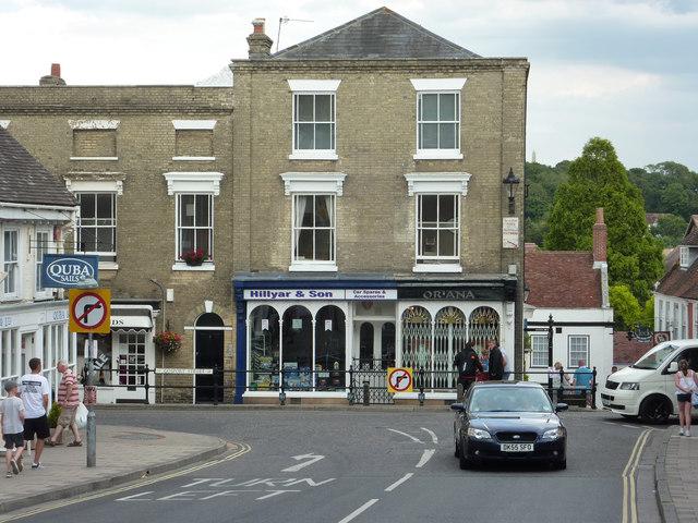 Gosport Street shops