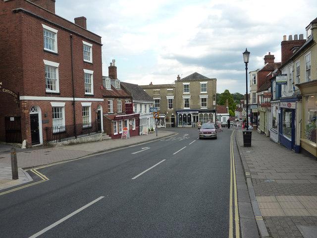 Lymington High Street
