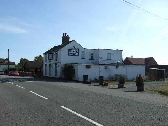 The Black Horse pub, Ludford