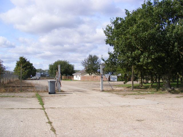 Entrance to Stump Cross & Haveringland Farms