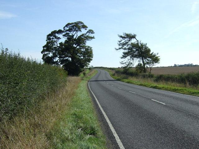 A631 heading east