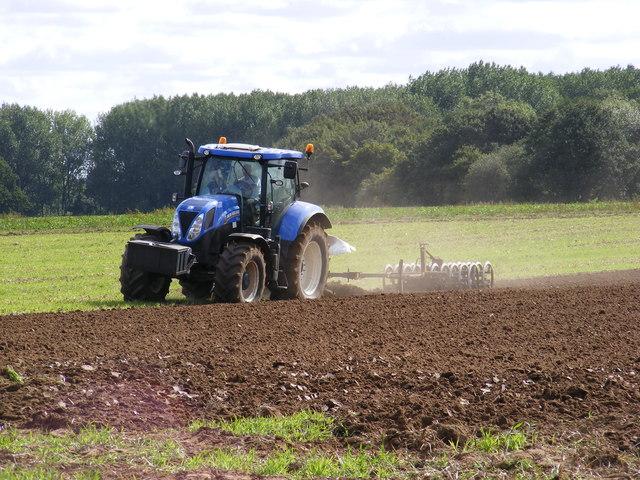 Field Preparation near Locks Farm