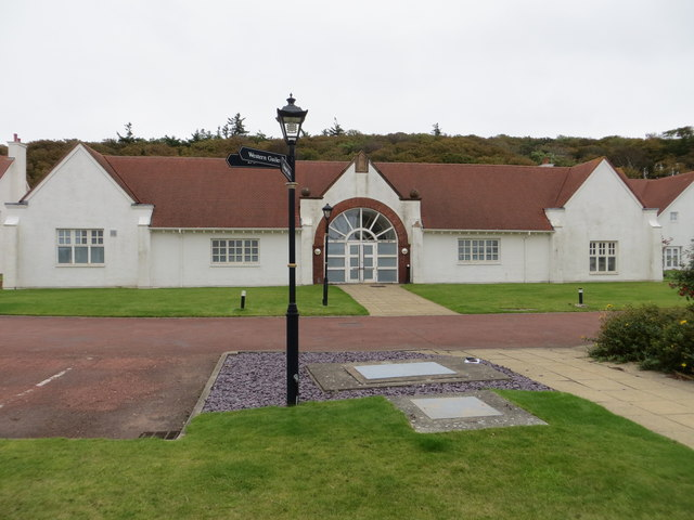 Hall at Turnberry Cottages