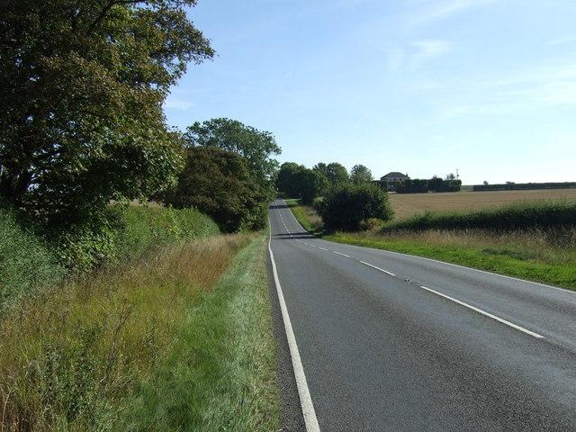 A157 heading east