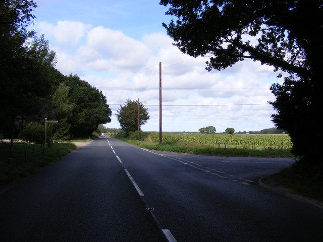 B1149 Holt Road, The Heath