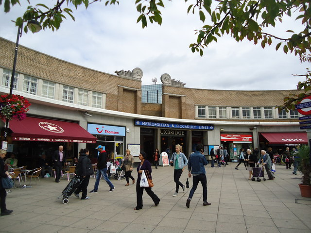 Uxbridge underground station