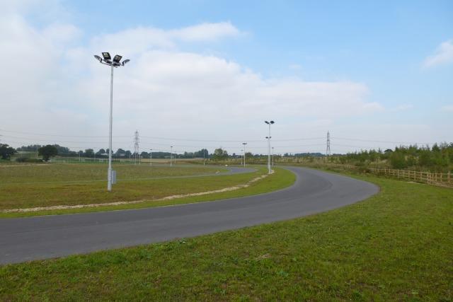 Cycle racetrack