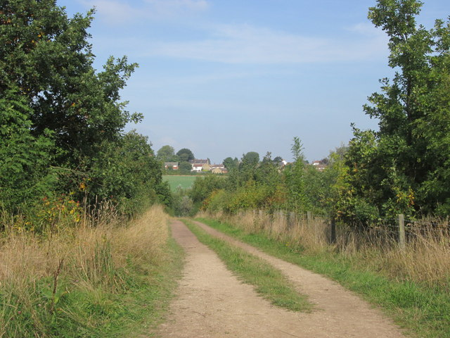 Track towards North Featherstone