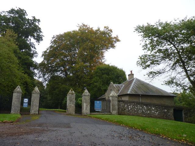 Gatehouse at Mellerstain