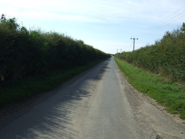 Lane heading south west
