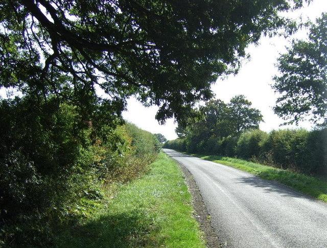 Lane heading south east