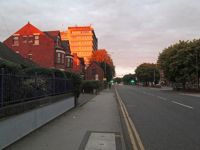 Radcliffe Road: daybreak in late September