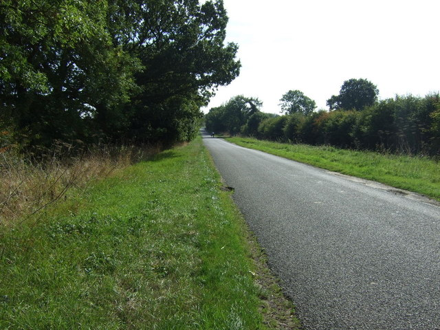 Minor road towards Asterby