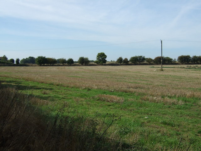 Farmland near Goulceby