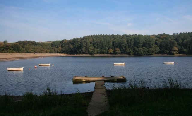 Higher Riddlesworth Reservoir
