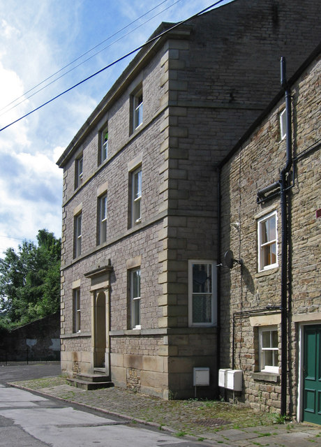 New Mills - house at bottom of Meal Street