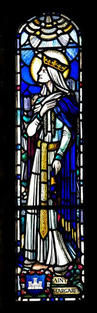 Stained glass window, Dalmeny Parish Church