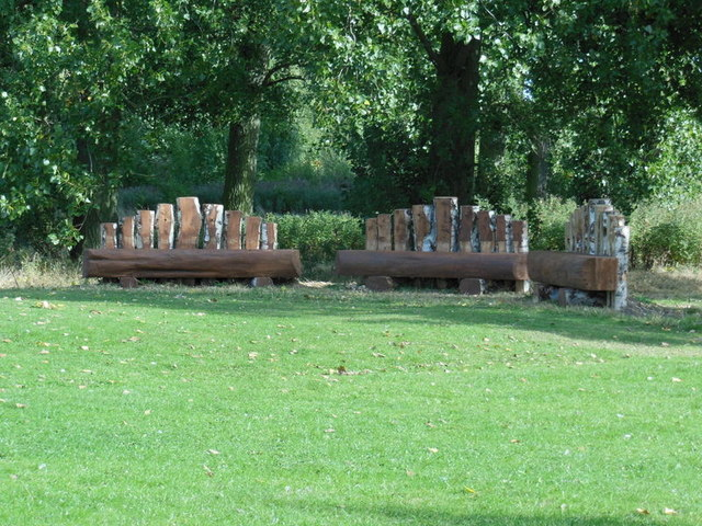 Seats in Bude Park, Hull