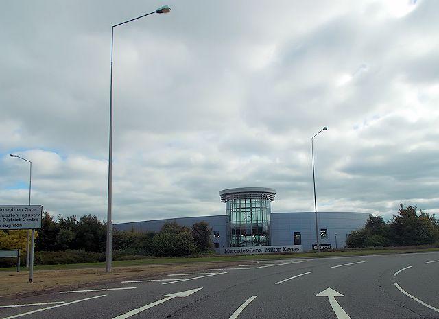 Mercedes Benz - Milton Keynes garage