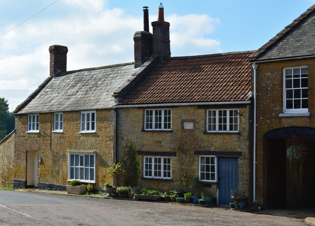 Cottages on the Monarch's Way, Broadwindsor, Dorset