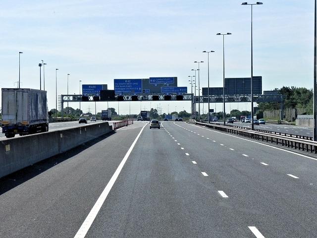 M6 Toll/M42 Interchange