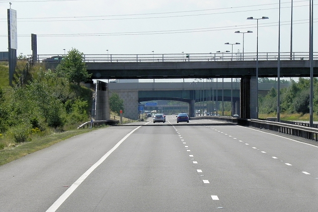 Kingsbury Road Bridge, M6 Toll Road